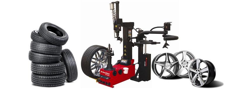 Reifenmontiergerät