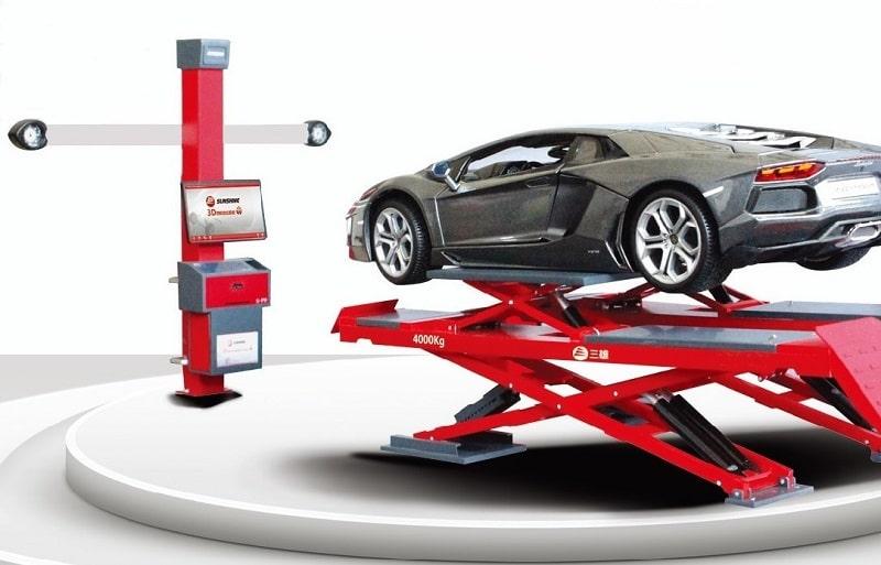 3D Achsmessgeräte von Sunshine-Germany